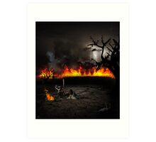 Even Death Itself Had Passed Them Over Art Print
