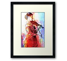 EARLY MORNING LESSONS Framed Print