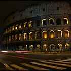 The Colosseum at Night by sarchuk63