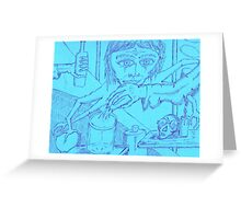 spiderwoman personified Greeting Card