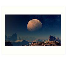 Martian Moons - Phobos Art Print