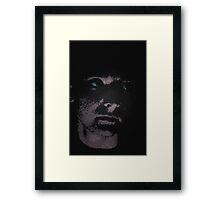 Pixel Faced Framed Print
