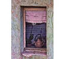 The Pink Window Photographic Print