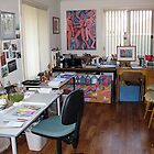 My studio 2 by Karin Zeller