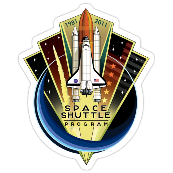 Space Shuttle Commemorative T-Shirt by destinysagent