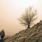 Walking the dog by Gregoria  Gregoriou Crowe