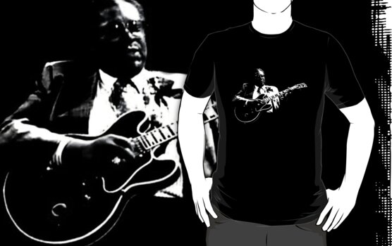B B KING T-SHIRT by ralphyboy