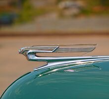 1940 Chevrolet Super Deluxe Hood Ornament by kenmo
