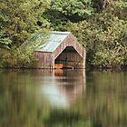 Loch Ard Boathouse by Chris Cherry