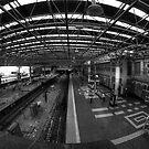 Perth Station fisheye by BigAndRed