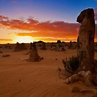 110620 Nambung National Park Pinnacles Sunrise 9 by Jaxybelle