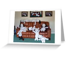 "Snoopy says ""It's A Dog's Life"". Greeting Card"