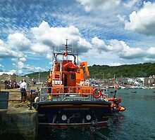 Ernest And Mabel Weymouth Lifeboat by lynn carter