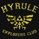 Hyrule Explorers Club Dark by AngryMongo