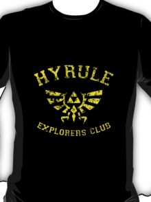Hyrule Explorers Club Dark T-Shirt