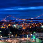 The Ambassador Bridge by John Cruz