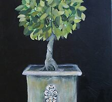 Topiary Tree by Christine Clarke