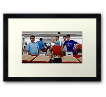 Rice Boys Framed Print