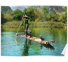 Rural Fisherman Poster