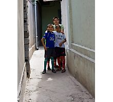 Kids of Tashkent Photographic Print