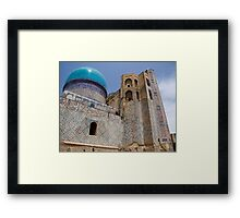 Bibi Khanum Mosque Framed Print