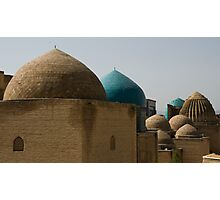 Domes at Shah-i-Zinda Photographic Print