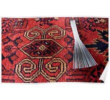 Carpet making tool Poster