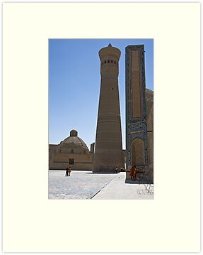 Kalon Minaret by Gillian Anderson LAPS, AFIAP