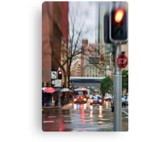 Rain, Rain Go AWAY!  Sydney - Australia Canvas Print