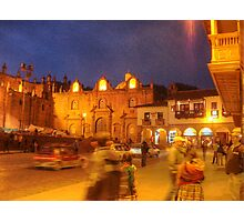 Cusco Night Life- An Evening at Paddy's Pub  Photographic Print