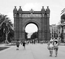 Arc of Triumph (Barcelona) by Iulia (since91)