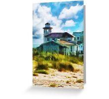 Simple Pleasures III ~ The Lighthouse Keeper Greeting Card