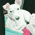 Sully the Jack Russell Terrier by Yvonne Carter