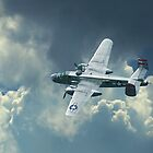 B-25 Mitchell by Christopher Herrfurth