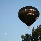 Balloon, Phantom of the Opera by Linda Jackson