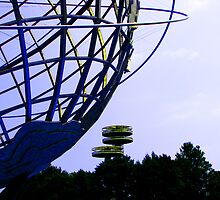 The Unisphere and the New York State Pavilion by michael6076
