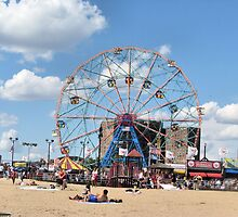 Wonder Wheel at Coney Island NYC by kaine23