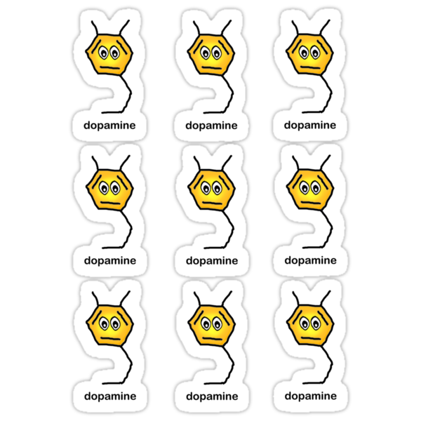 Dopamine Sticker Sheet by bumpybrains