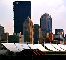 Not your average Pittsburgh Skyline by Chuck Chisler