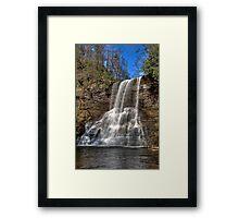 The Cascades of Virginia Framed Print