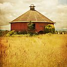 Round Barn by Colleen Farrell