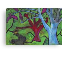 Midnight Garden cycle13 14 Canvas Print