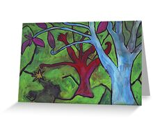 Midnight Garden cycle13 14 Greeting Card