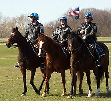 Washington DC Park Police by Eileen Brymer