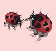 Two Heart Ladybugs T-Shirt