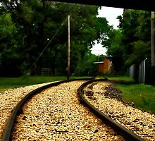 Train Tracks by AT-Photo