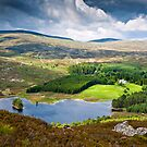 Loch Gynack, Scottish Highlands by David Lewins LRPS