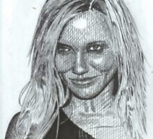 Cameron Diaz by WienArtist