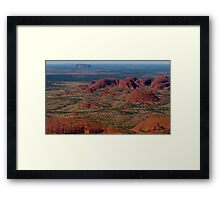 My Wide Brown Land Framed Print
