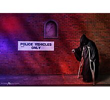 That's the car, officer. Photographic Print